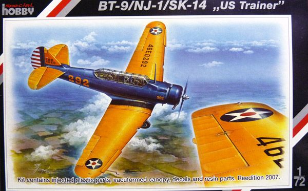 specialhobby-SH72069-North-American-US-Trainer-BT-9